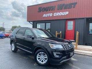 Used 2017 Ford Explorer XLT|Navi|Backup|Sunroof|Htd Lthr Seats|SYNC|7 Pass for sale in London, ON