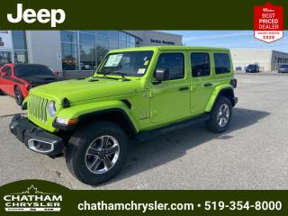 New 2021 Jeep Wrangler Unlimited Sahara for sale in Chatham, ON