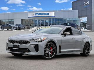 Used 2021 Kia Stinger GT2 TWIN TURBO V6, AWD, 2 SETS OF WHEELS, LOADED, NAVI, COOLED SEATS for sale in Hamilton, ON