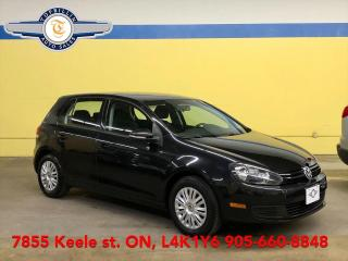 Used 2013 Volkswagen Golf Auto, Heated Seats, 2 Years Warranty for sale in Vaughan, ON