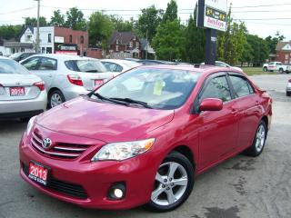 Used 2013 Toyota Corolla LE,SUNROOF,BLUETOOTH,CERTIFIED,NO ACCIDENT,FOGS for sale in Kitchener, ON
