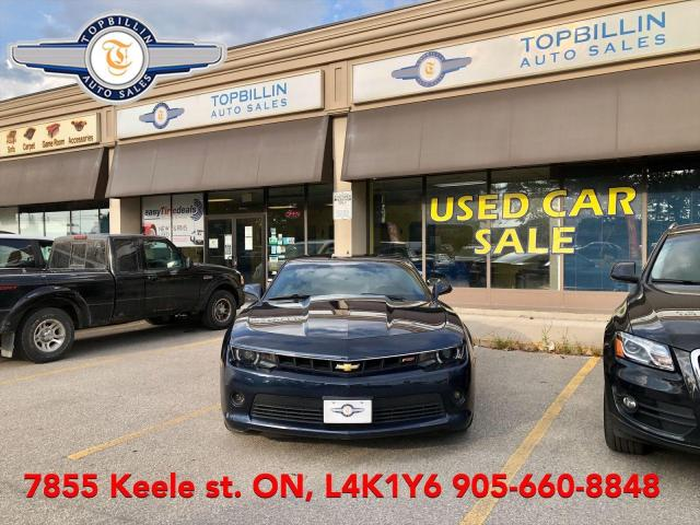 2015 Chevrolet Camaro LT, RS Package, Auto, Only 83K km 2 Years Warranty