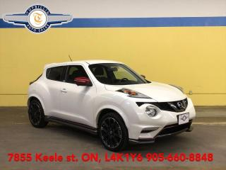 Used 2017 Nissan Juke 4WD Nismo, Navigation, 360 Cam, Only 57K km for sale in Vaughan, ON