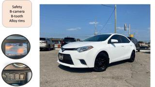 Used 2015 Toyota Corolla 4dr AUTO SEDAN B-TOOTH B-CAMERA SAFETY CERTIFIED for sale in Oakville, ON