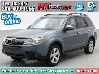 Used 2010 Subaru Forester X for sale in Winnipeg, MB