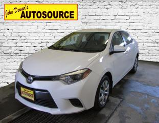 Used 2015 Toyota Corolla LE for sale in Peterborough, ON
