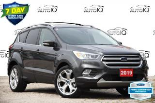 Used 2019 Ford Escape Titanium CPO | SUNROOF | ADAPTIVE CRUISE | BLIS for sale in Kitchener, ON