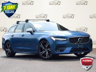 Used 2019 Volvo V90 T6 R-Design T6 R-DESIGN   AWD   2.0L   DUAL A/C   POWER WINDOWS   BLIND SPOT INFORMATION SYSTEM   POWER MOONROOF for sale in Waterloo, ON