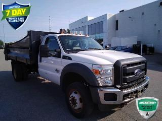 Used 2015 Ford F-550 Chassis XL | DRW | DUMP BODY | REGULAR CAB | for sale in Barrie, ON