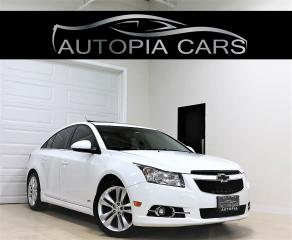 Used 2014 Chevrolet Cruze 2LT RS PKG ACCIDENT FREE REAR VIEW CAMERA SUNROOF for sale in North York, ON