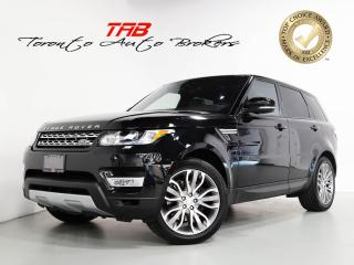 Used 2017 Land Rover Range Rover Sport Td6 HSE DIESEL I 21 IN WHEEL I NAV I PANO for sale in Vaughan, ON