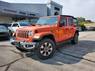 Used 2018 Jeep Wrangler Unlimited Sahara for sale in Sarnia, ON
