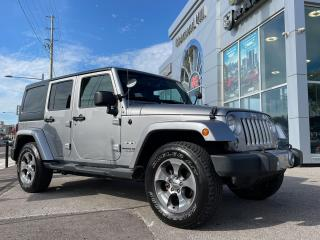 Used 2018 Jeep Wrangler Sahara 4x4 - leather /Nav/ Dual top/one owner for sale in Richmond Hill, ON