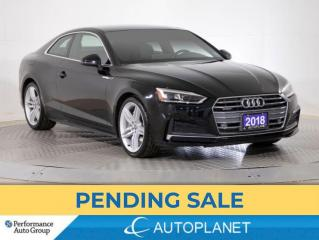 Used 2018 Audi A5 Coupe Quattro, Progressiv, S-Line, Navi, Apple CarPlay! for sale in Brampton, ON