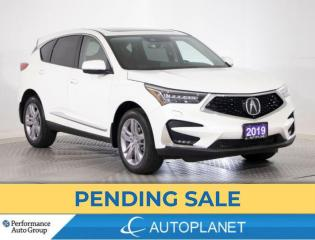 Used 2019 Acura RDX AWD, Platinum Elite, Turbo, Heads Up Display, Navi for sale in Brampton, ON