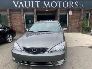 Used 2005 Toyota Camry 4dr Sdn SE V6 Auto, Leather, NO ACCIDENTS for sale in Brampton, ON