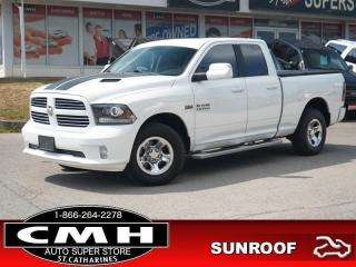 Used 2014 RAM 1500 Sport  NAV CAM ROOF HTD-S/W TOW REM-START for sale in St. Catharines, ON