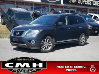 Used 2014 Nissan Pathfinder SL  CAM PARK-SENS LEATH HTD-S/W 18-AL for sale in St. Catharines, ON