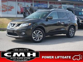 Used 2015 Nissan Rogue SL  NAV CAM ROOF LEATH HTD-SEATS 18-AL for sale in St. Catharines, ON