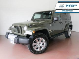 Used 2015 Jeep Wrangler Unlimited 1 OWNER | HARD & SOFT TOP | BLUETOOTH  - $242 B/W for sale in Brantford, ON