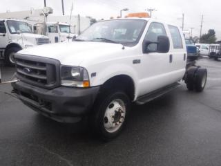 Used 2003 Ford F-450 SD Cab & Chassis Crew Cab 2WD Dually Wheelbase 176 Inch for sale in Burnaby, BC