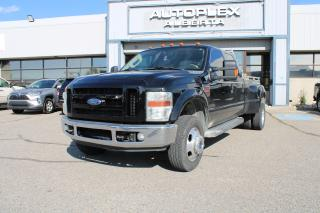 Used 2008 Ford F-350 SD Lariat Crew Cab DRW 4WD for sale in Calgary, AB