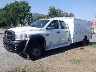 Used 2009 Dodge Ram 5500 Service Truck Quad Cab 2WD Diesel for sale in Burnaby, BC