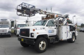 Used 1999 GMC C7H042 Diesel Bucket Bucket Truck With Air Brakes for sale in Burnaby, BC