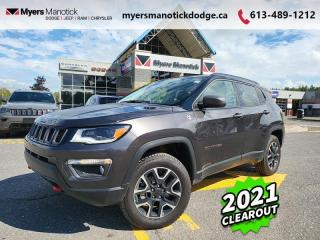 New 2021 Jeep Compass Trailhawk  -  Skid Plates -  Tow Hooks - $227 B/W for sale in Ottawa, ON