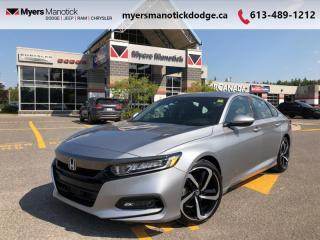 Used 2019 Honda Accord Sedan Sport  - $189 B/W for sale in Ottawa, ON