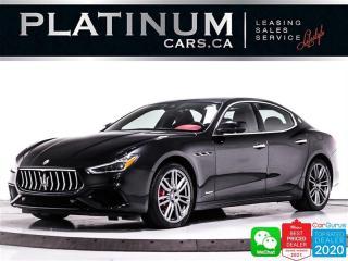 Used 2018 Maserati Ghibli SQ4 GranSport, 424HP, AWD, NAV, 360 CAM, HEATED, for sale in Toronto, ON