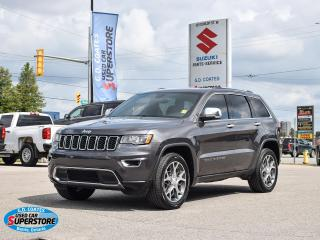 Used 2019 Jeep Grand Cherokee Limited 4x4 ~Nav ~Cam ~Heated Leather ~Moonroof for sale in Barrie, ON