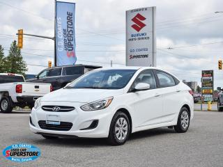 Used 2015 Hyundai Accent L for sale in Barrie, ON