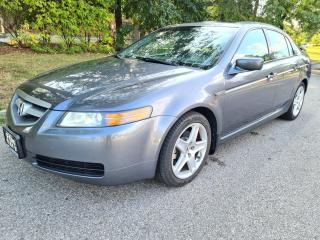 Used 2006 Acura TL 4dr Sdn Premium Edition   GPS Navigation! for sale in Mississauga, ON