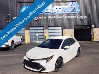 Used 2019 Toyota Corolla Hatchback , Leather, Navigation, Heated Seats+Steering, Reverse Camera, Safety Sense 2.0, Apple CarPlay & more for sale in Guelph, ON