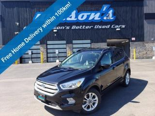 Used 2017 Ford Escape SE 4WD, 2.0L Ecoboost, Navi, Power Seat, Heated Seats, Bluetooth, Rear Camera, Alloy Wheels and more for sale in Guelph, ON