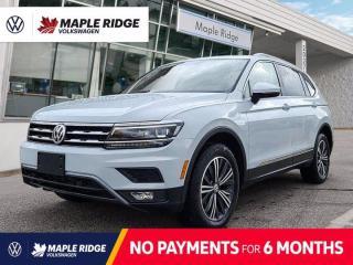 Used 2018 Volkswagen Tiguan Highline for sale in Maple Ridge, BC