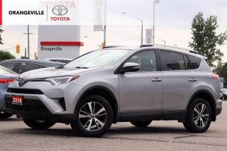 Used 2018 Toyota RAV4 ONLY 16500KMS!! LE, HEATED SEATS, BLUETOOTH, BACK-UP CAMERA, LANE DEPARTURE WARNING, KEYLESS ENTRY for sale in Orangeville, ON