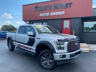Used 2016 Ford F-150 Sport Lariat|NAVI|Htd&Cooled Lthr Seats|PanoRoof for sale in London, ON