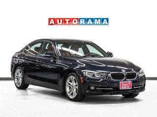 Used 2017 BMW 330xi xDrive Nav Red Leather Sunroof Backup Cam for sale in Toronto, ON