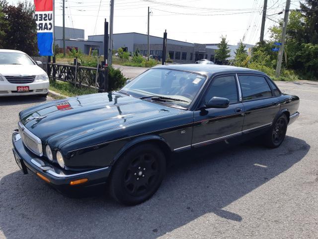 2001 Jaguar XJ Vanden Plas, AUTO, POWER GROUP, A/C, ACCIDENT FREE