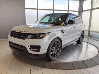 Used 2015 Land Rover Range Rover Sport SUPERCHARGED - DYNAMIC MODEL! for sale in Edmonton, AB
