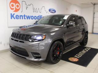 Used 2017 Jeep Grand Cherokee SRT | 20s | Sunroof | Performance Audio Pkg | Performance Brakes for sale in Edmonton, AB