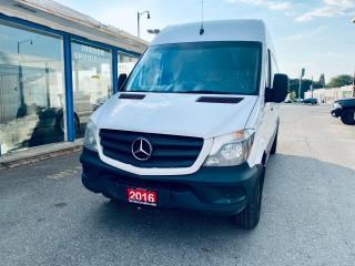 """Used 2016 Mercedes-Benz Sprinter Mercedes-Benz Sprinter 2500 170"""" High Roof EXT for sale in Brampton, ON"""