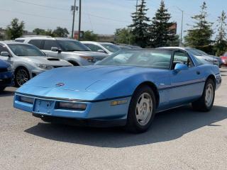 Used 1988 Chevrolet Corvette Targa top 1988 Corvette! for sale in Bolton, ON