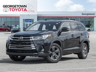 Used 2018 Toyota Highlander LIMITED  for sale in Georgetown, ON