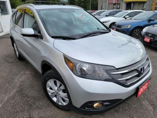 Used 2012 Honda CR-V Touring/AWD/NAVI/CAMERA/LEATHER/ROOF/LOADED/ALLOYS for sale in Scarborough, ON