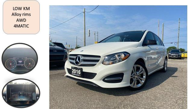 2016 Mercedes-Benz B-Class 4dr HB B 250 Sports NO ACCIDENT 4MATIC low km safe