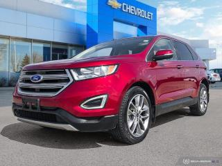 Used 2015 Ford Edge Titanium AWD | Leather | Heated Seats | Rear View Camera for sale in Winnipeg, MB