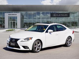 Used 2016 Lexus IS 350 Luxury Moonroof   Navigation for sale in Winnipeg, MB